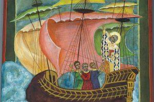 Nicolaas op zee